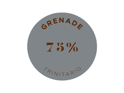 Tablette de chocolat noir Grenade 75% cacao