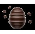Turned Easter Egg - Dark