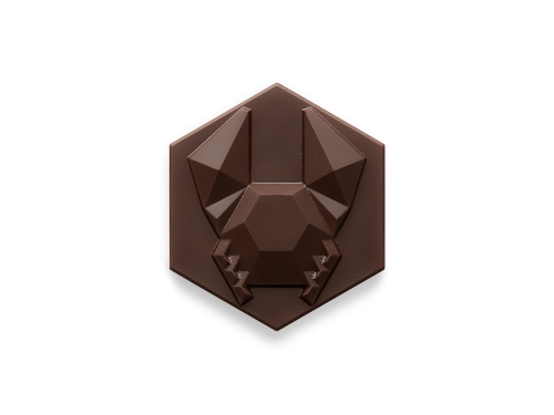 Crab-rock - Dark - Easter Chocolate