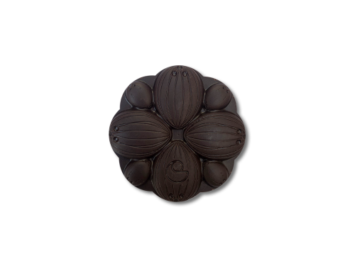 Small Dark Coconut Flower