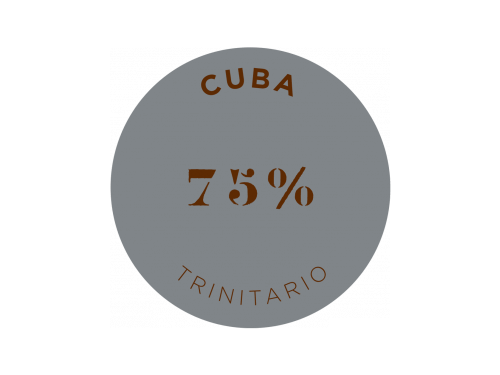 CUBA 75% COCOA DARK CHOCOLATE BAR