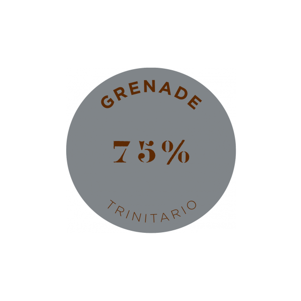 GRENADA 75% COCOA DARK CHOCOLATE BAR