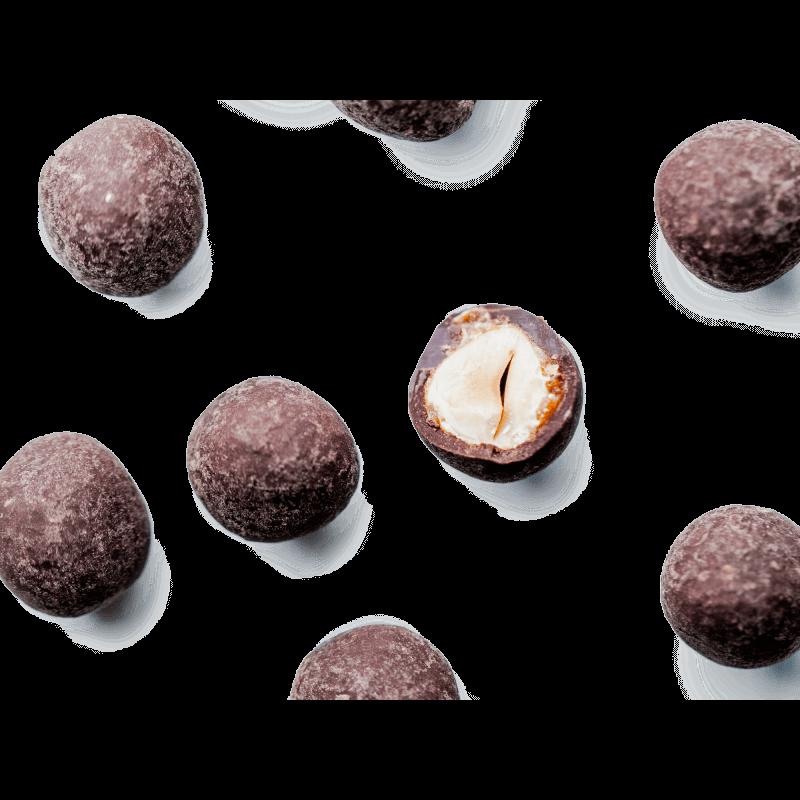 Les Dragées noisette chocolat noir 250g