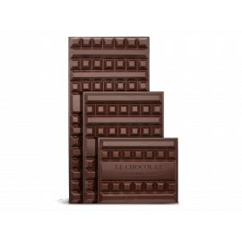 Bloc de chocolat noir