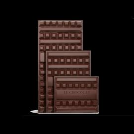 Bloc de chocolat au lait