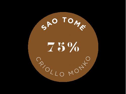 Sao Tomé Criollo Monko 75%