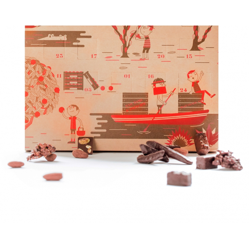 Calendrier de l 39 avent le chocolat alain ducasse - Calendrier de l avent amoureux ...