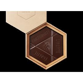 L'Hexagone Français chocolat au lait mendiant