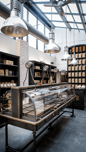 Stores la manufacture du chocolat alain ducasse - Le comptoir des tuileries ...